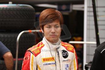 World © Octane Photographic Ltd. Thursday 22nd May 2014. GP2 Practice – Monaco, Monte Carlo. Kimiya Sato - Campos Racing. Digital Ref : 0959CB7D2094