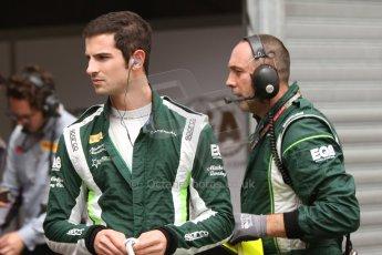 World © Octane Photographic Ltd. Thursday 22nd May 2014. GP2 Practice – Monaco, Monte Carlo. Alexander Rossi - EQ8 Caterham Racing. Digital Ref : 0959CB7D2157