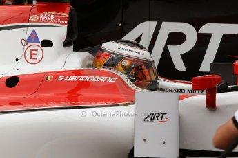 World © Octane Photographic Ltd. Thursday 22nd May 2014. GP2 Practice – Monaco, Monte Carlo. Stoffel Vandoorne - ART Grand Prix. Digital Ref : 0959CB7D2222