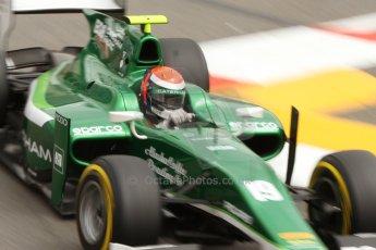 World © Octane Photographic Ltd. Thursday 22nd May 2014. GP2 Practice – Monaco, Monte Carlo. Alexander Rossi - EQ8 Caterham Racing. Digital Ref : 0959CB7D2239