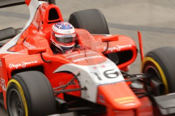 World © Octane Photographic Ltd. Thursday 22nd May 2014. GP2 Practice – Monaco, Monte Carlo. Rene Binder - Arden International. Digital Ref : 0959CB7D2311