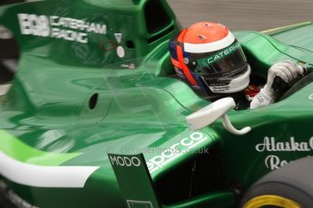 World © Octane Photographic Ltd. Thursday 22nd May 2014. GP2 Practice – Monaco, Monte Carlo. Alexander Rossi - EQ8 Caterham Racing. Digital Ref : 0959CB7D2327