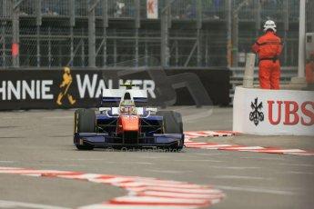 World © Octane Photographic Ltd. Thursday 22nd May 2014. GP2 Practice – Monaco, Monte Carlo. Johnny Cecotto - Trident. Digital Ref : 0959LB1D4088