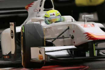 World © Octane Photographic Ltd. Thursday 22nd May 2014. GP2 Practice – Monaco, Monte Carlo. Kimiya Sato - Campos Racing. Digital Ref : 0959LB1D4257