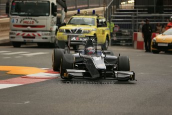 World © Octane Photographic Ltd. Thursday 22nd May 2014. GP2 Practice – Monaco, Monte Carlo. Mitch Evans - RT Russian Time. Digital Ref : 0959LB1D4344