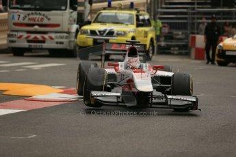 World © Octane Photographic Ltd. Thursday 22nd May 2014. GP2 Practice – Monaco, Monte Carlo. Takuya Izawa - ART Grand Prix. Digital Ref : 0959LB1D4352