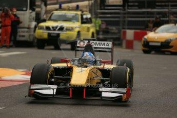 World © Octane Photographic Ltd. Thursday 22nd May 2014. GP2 Practice – Monaco, Monte Carlo. Jolyon Palmer - DAMS. Digital Ref : 0959LB1D4465