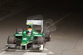 World © Octane Photographic Ltd. Thursday 22nd May 2014. GP2 Qualifying – Monaco, Monte Carlo. Alexander Rossi - EQ8 Caterham Racing. Digital Ref : 0962CB7D2514