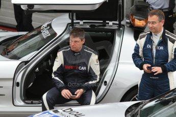World © Octane Photographic Ltd. Sunday 20th July 2014. German GP, Hockenheim. - Formula 1 Pitlane. Mercedes Safty car (SLS AMG) with Dr.Ian Roberts. Digital Ref: