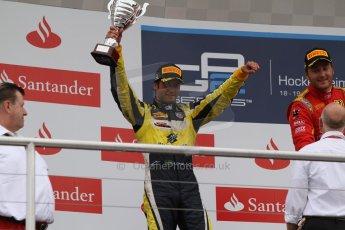 World © Octane Photographic Ltd. Sunday 20th July 2014. GP2 Race 2 – German GP - Hockenheim. Felipe Nasr - Carlin (2nd). Digital Ref : 1050CB7D6047