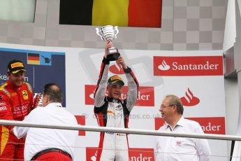 World © Octane Photographic Ltd. Sunday 20th July 2014. GP2 Race 2 – German GP - Hockenheim. Stoffel Vandoorne - ART Grand Prix (3rd). Digital Ref : 1050CB7D6063