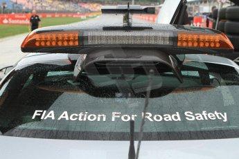 World © Octane Photographic Ltd. Sunday 20th July 2014. GP2 Race 2 – German GP - Hockenheim. FIA safety car in the rain. Digital Ref : 1050CB7D6565