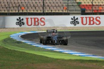 World © Octane Photographic Ltd. Saturday 19th July 2014. German GP, Hockenheim. - Formula 1 Qualifying. McLaren Mercedes MP4/29 - Jenson Button. Digital Ref: