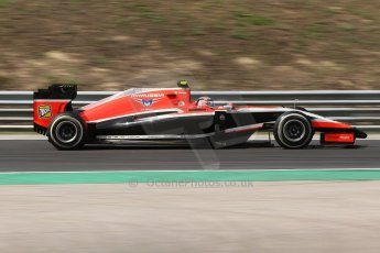 World © Octane Photographic Ltd. Friday 25th July 2014. Hungarian GP, Hungaroring - Budapest. - Formula 1 Practice 2. Marussia F1 Team MR03 - Max Chilton. Digital Ref: 1057CB7D6829