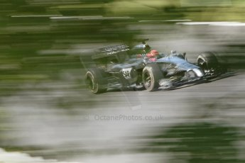 World © Octane Photographic Ltd. Friday 25th July 2014. Hungarian GP, Hungaroring - Budapest. - Formula 1 Practice 2. McLaren Mercedes MP4/29 - Jenson Button. Digital Ref: 1057CB7D6898