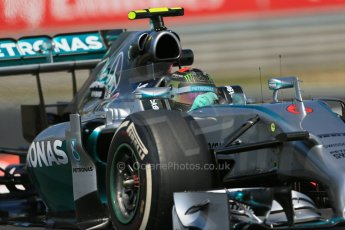 World © Octane Photographic Ltd. Friday 25th July 2014. Hungarian GP, Hungaroring - Budapest. - Formula 1 Practice 2. Mercedes AMG Petronas F1 W05 Hybrid - Nico Rosberg. Digital Ref: 1057LB1D0620