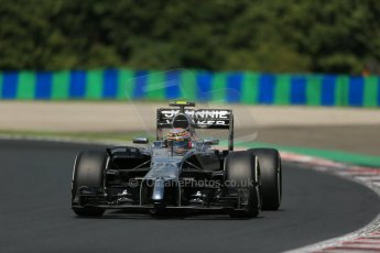 World © Octane Photographic Ltd. 2014 Saturday 26th July 2014. Hungarian GP, Hungaroring - Budapest. Practice 3. McLaren Mercedes MP4/29 – Kevin Magnussen. Digital Ref: 1064LB1D1199
