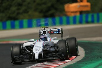 World © Octane Photographic Ltd. 2014 Saturday 26th July 2014. Hungarian GP, Hungaroring - Budapest. Practice 3. Williams FW36 – Valtteri Bottas Digital Ref: 1064LB1D1446