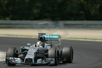 World © Octane Photographic Ltd. Saturday 26th July 2014. Hungarian GP, Hungaroring - Budapest. Practice 3. Mercedes AMG Petronas F1 W05 Hybrid – Lewis Hamilton. Digital Ref: 1064LB1D1690