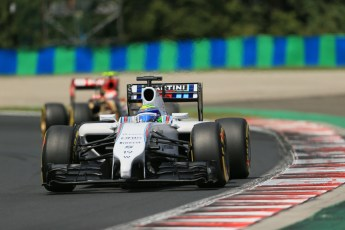 World © Octane Photographic Ltd. Saturday 26th July 2014. Hungarian GP, Hungaroring - Budapest. Practice 3. Williams Martini Racing FW36 – Felipe Massa. Digital Ref: 1064LB1D1844