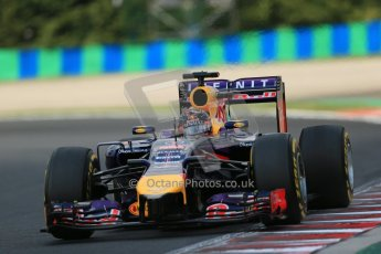 World © Octane Photographic Ltd. 26th July 2014. German GP, Hockenheim. Formula 1 Practice 3. Infiniti Red Bull Racing RB10 - Sebastian Vettel. Digital Ref: 1064LB1D1934