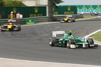 World © Octane Photographic Ltd. Friday 25th July 2014. GP2 Practice – Hungarian GP, Hungaroring - Budapest. Tom Dillmann - EQ8 Caterham Racing. Digital Ref :