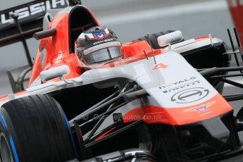 World © Octane Photographic Ltd. Tuesday 13th May 2014. Circuit de Catalunya - Spain - Formula 1 In-Season testing. Marussia F1 Team MR03 - Max Chilton. Digital Ref: