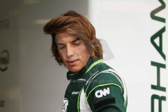 World © Octane Photographic Ltd. Friday 5th September 2014, Italian GP, Monza - Italy  - Formula 1 Practice 1. Caterham F1 Team CT05 – Roberto Merhi. Digital Ref: 1094CB7D8830