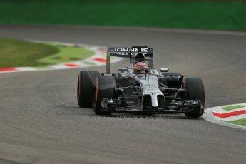 World © Octane Photographic Ltd. Friday 5th September 2014, Italian GP, Monza - Italy  - Formula 1 Practice 1. McLaren Mercedes MP4/29 - Jenson Button. Digital Ref: 1094LB1D3161