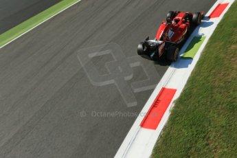 World © Octane Photographic Ltd. Saturday 6th September 2014, Italian GP, Monza - Italy. - Formula 1 Practice 3. Scuderia Ferrari F14T - Fernando Alonso. Digital Ref: 1100LB1D5177