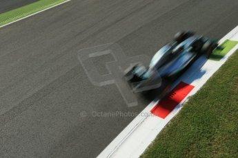 World © Octane Photographic Ltd. Saturday 6th September 2014, Italian GP, Monza - Italy. - Formula 1 Practice 3. Mercedes AMG Petronas F1 W05 Hybrid – Lewis Hamilton. Digital Ref: 1100LB1D5238