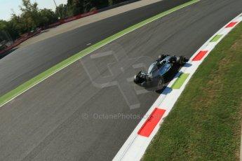 World © Octane Photographic Ltd. Saturday 6th September 2014, Italian GP, Monza - Italy. - Formula 1 Practice 3. Mercedes AMG Petronas F1 W05 Hybrid – Lewis Hamilton. Digital Ref: 1100LB1D5270