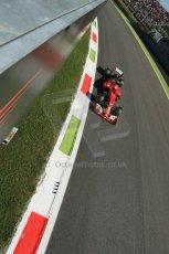 World © Octane Photographic Ltd. Saturday 6th September 2014, Italian GP, Monza - Italy. - Formula 1 Practice 3. Scuderia Ferrari F14T – Kimi Raikkonen. Digital Ref: 1100LB1D5644