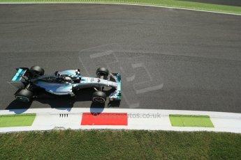 World © Octane Photographic Ltd. Saturday 6th September 2014, Italian GP, Monza - Italy. - Formula 1 Practice 3. Mercedes AMG Petronas F1 W05 Hybrid – Lewis Hamilton. Digital Ref: 1100LB1D5759