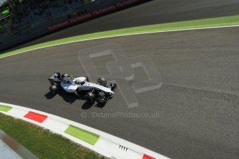 World © Octane Photographic Ltd. Saturday 6th September 2014, Italian GP, Monza - Italy. - Formula 1 Practice 3. Williams Martini Racing FW36 – Valtteri Bottas. Digital Ref: 1100LB1D5764