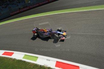 World © Octane Photographic Ltd. Saturday 6th September 2014, Italian GP, Monza - Italy. - Formula 1 Practice 3. Infiniti Red Bull Racing RB10 – Daniel Ricciardo. Digital Ref: 1100LB1D5770