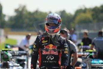 World © Octane Photographic Ltd. Saturday 6th September 2014, Italian GP, Monza - Italy. - Formula 1 Qualifying Parc Ferme. Infiniti Red Bull Racing RB10 – Daniel Ricciardo. Digital Ref: 1106LB1D6321