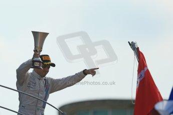 World © Octane Photographic Ltd. Sunday 7th September 2014, Italian GP, Monza - Italy. - Formula 1 Podium. Williams Martini Racing FW36 – Felipe Massa (3rd). Digital Ref: 1113LB1D8522