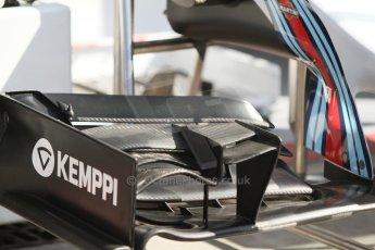 World © Octane Photographic Ltd. Saturday 6th September 2014, Italian GP, Monza - Italy - Formula 1 Qualifying. Williams Martini Racing FW36 front wing. Digital Ref: 1096CB7D0125