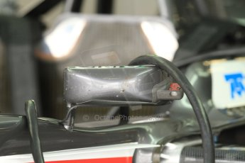 World © Octane Photographic Ltd. Friday 5th September 2014, Italian GP, Monza - Italy - Formula 1 Practice 1. Sauber C33 mirror with sensor. Digital Ref: 1096CB7D7309