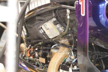 World © Octane Photographic Ltd. Friday 5th September 2014, Italian GP, Monza - Italy. Formula 1 Practice 1. Infiniti Red Bull Racing RB10 side pod detail. Digital Ref: 1096CB7D7324