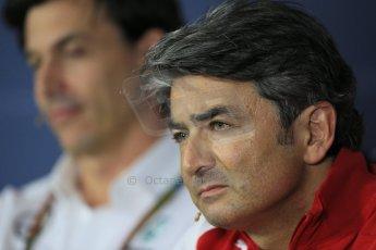 World © Octane Photographic Ltd. Friday 5th September 2014, Italian GP, Monza. Marco Mattiacci - Scuderia Ferrari Team Principle. Digital Ref: