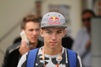 World © Octane Photographic Ltd. Friday Friday 5th September 2014. GP2 Practice – Italian GP - Monza, Italy. Pierre Gasly - EQ8 Caterham Racing. Digital Ref : 1095CB7D8710