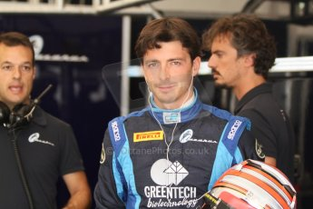 World © Octane Photographic Ltd. Friday Friday 5th September 2014. GP2 Practice – Italian GP - Monza, Italy. Sergio Campana - Venezuela GP Lazarus. Digital Ref : 1095CB7D8774