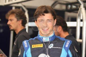 World © Octane Photographic Ltd. Friday Friday 5th September 2014. GP2 Practice – Italian GP - Monza, Italy. Sergio Campana - Venezuela GP Lazarus. Digital Ref : 1095CB7D8776
