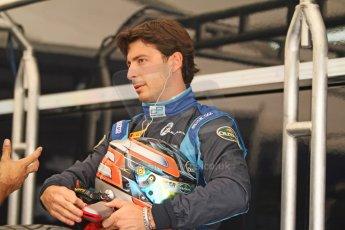 World © Octane Photographic Ltd. Friday Friday 5th September 2014. GP2 Practice – Italian GP - Monza, Italy. Sergio Campana - Venezuela GP Lazarus. Digital Ref : 1095CB7D8779