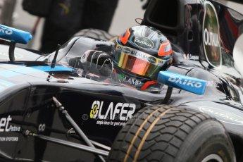 World © Octane Photographic Ltd. Friday Friday 5th September 2014. GP2 Practice – Italian GP - Monza, Italy. Sergio Campana - Venezuela GP Lazarus. Digital Ref : 1095CB7D8960
