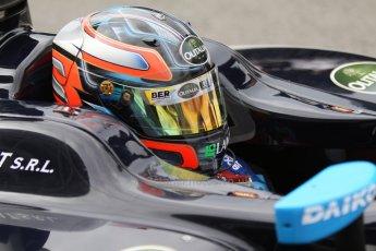 World © Octane Photographic Ltd. Friday Friday 5th September 2014. GP2 Practice – Italian GP - Monza, Italy. Sergio Campana - Venezuela GP Lazarus. Digital Ref : 1095CB7D8968