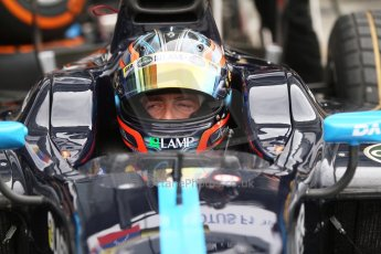 World © Octane Photographic Ltd. Friday Friday 5th September 2014. GP2 Practice – Italian GP - Monza, Italy. Sergio Campana - Venezuela GP Lazarus. Digital Ref : 1095CB7D8974