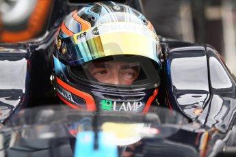 World © Octane Photographic Ltd. Friday Friday 5th September 2014. GP2 Practice – Italian GP - Monza, Italy. Sergio Campana - Venezuela GP Lazarus. Digital Ref : 1095CB7D8975